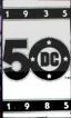 DC 50th Logo