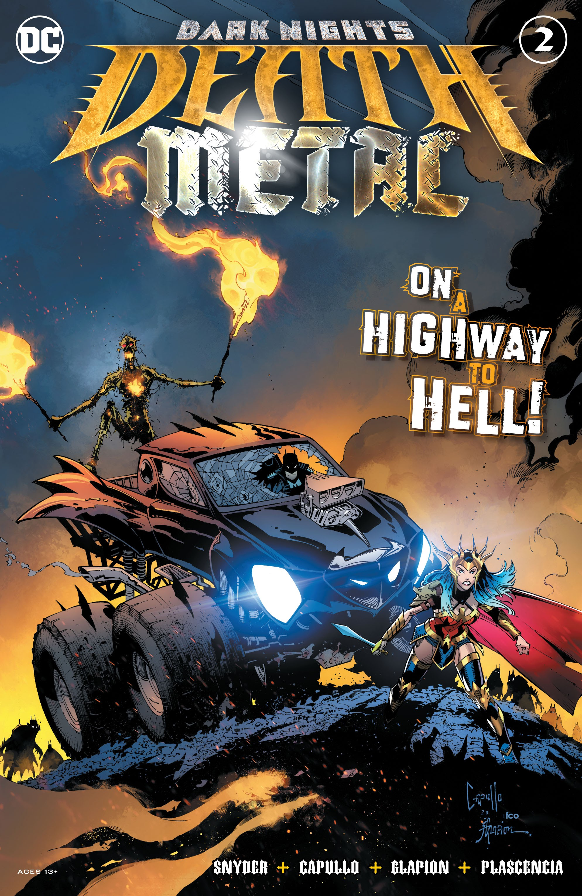 Dark Nights: Death Metal Vol 1 2