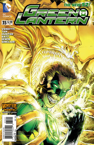Ivan Reis Monsters of the Month Variant