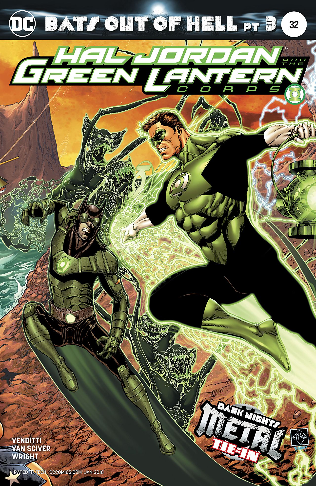 Hal Jordan and the Green Lantern Corps Vol 1 32