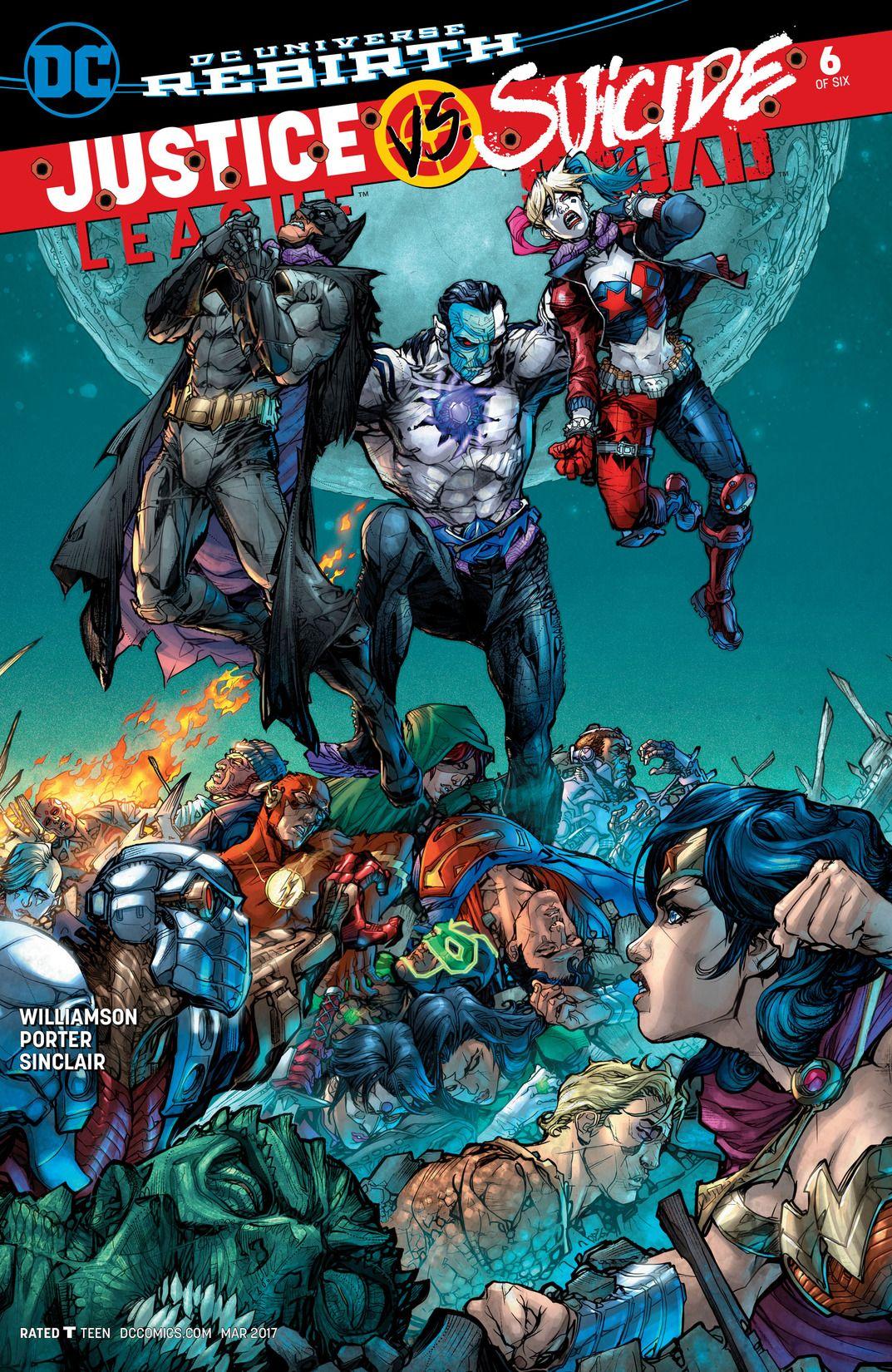 Justice League vs. Suicide Squad Vol 1 6