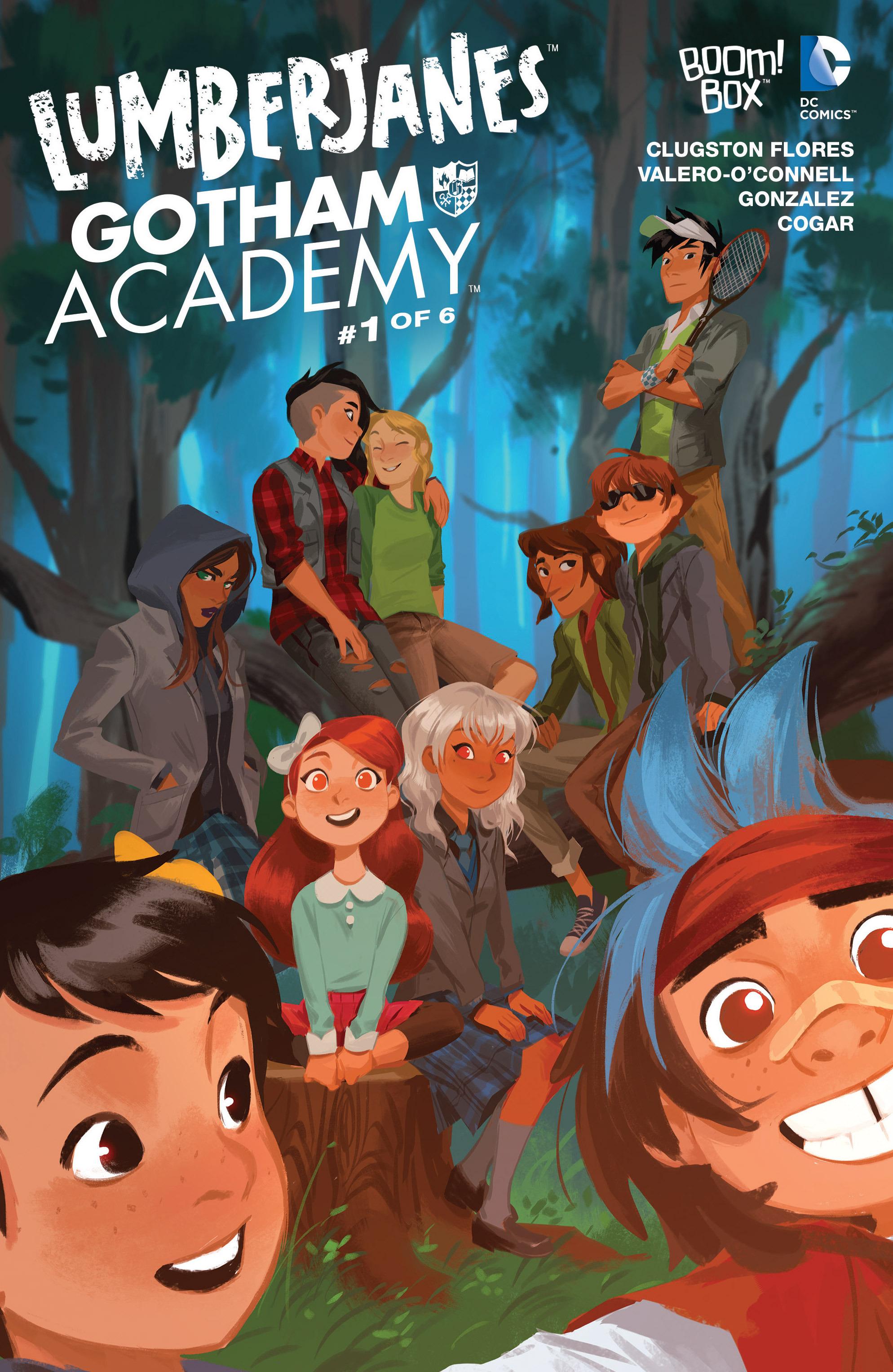 Lumberjanes/Gotham Academy Vol 1