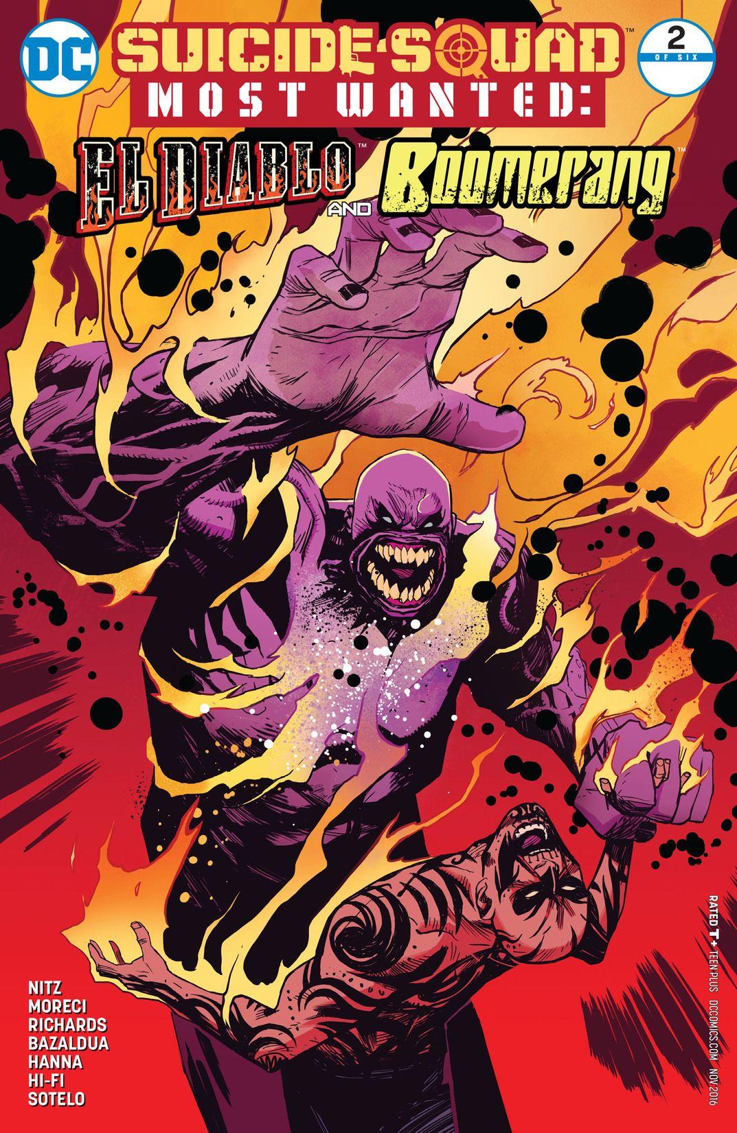 Suicide Squad Most Wanted: El Diablo and Boomerang Vol 1 2