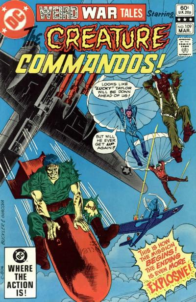 Weird War Tales Vol 1 109