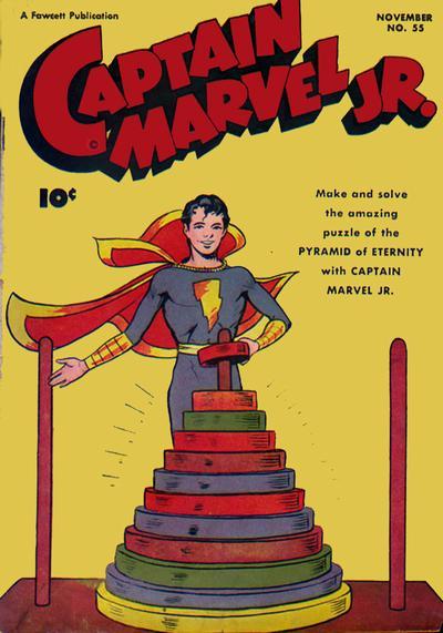 Captain Marvel, Jr. Vol 1 55