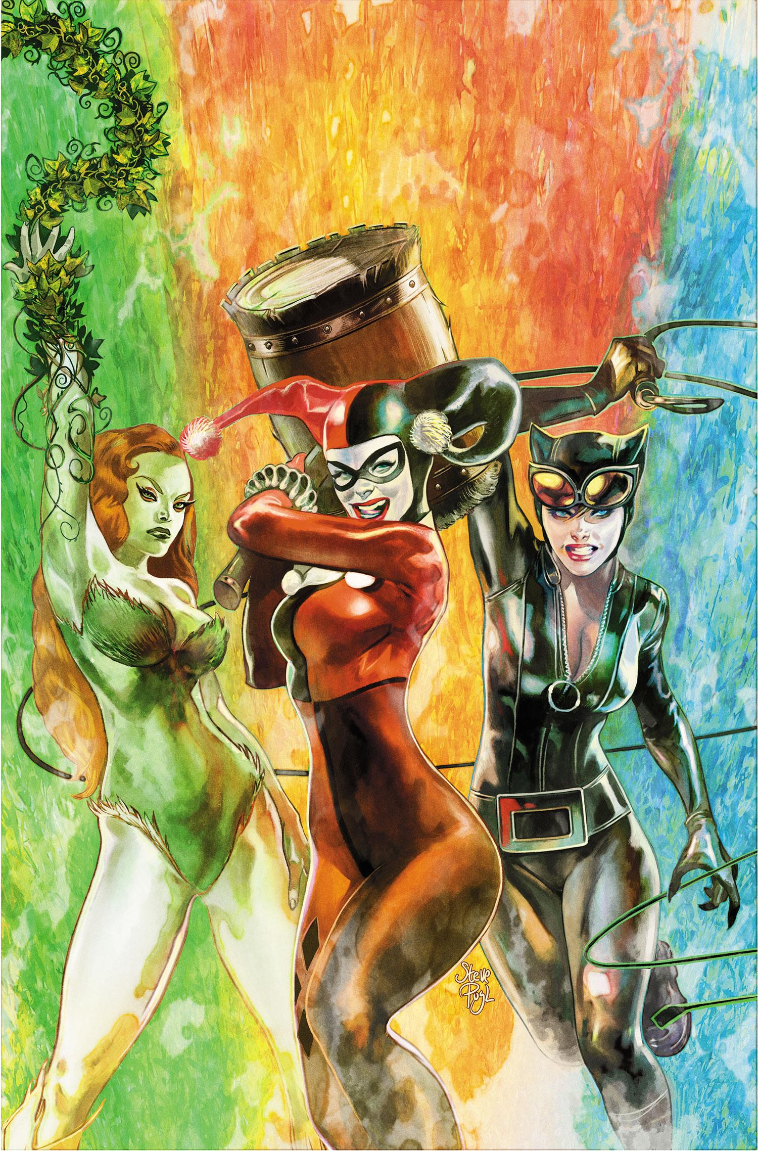Convergence Harley Quinn Vol 1 1 Textless.jpg