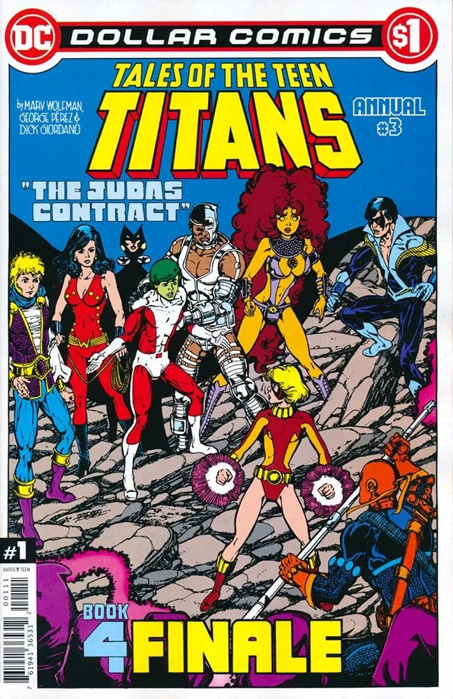 Dollar Comics: Tales of the Teen Titans Annual Vol 1 3