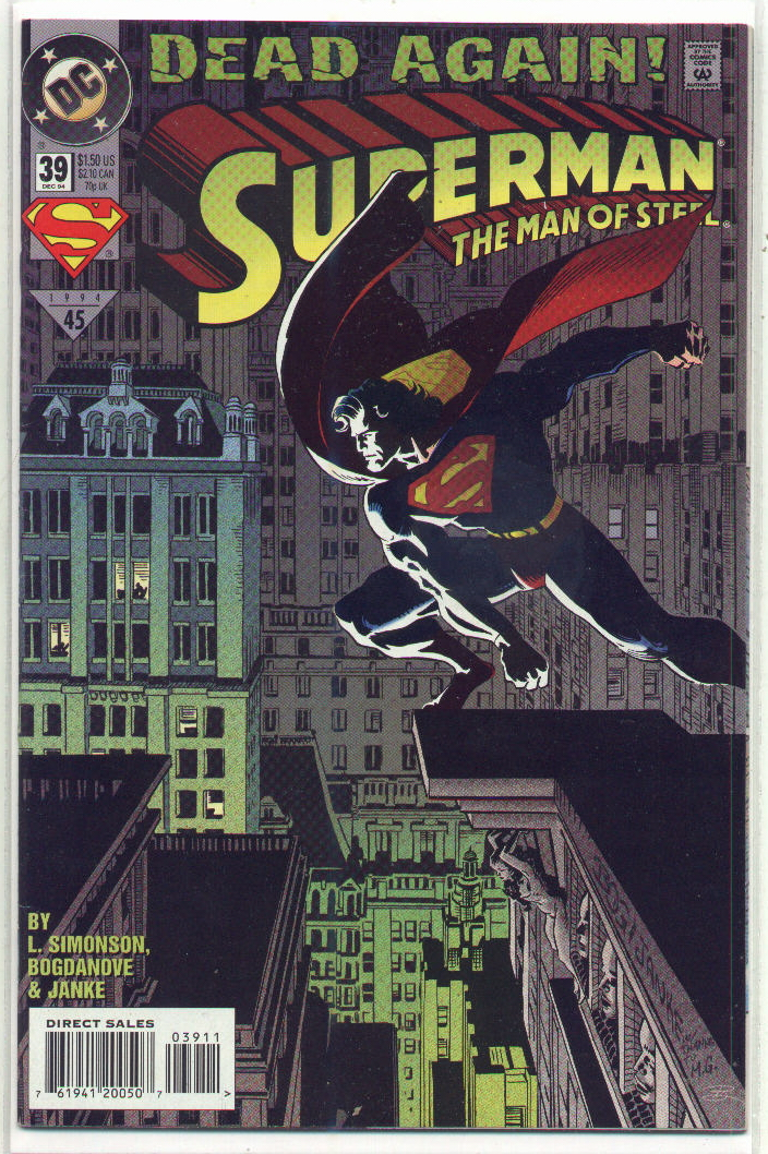 Superman: The Man of Steel Vol 1 39