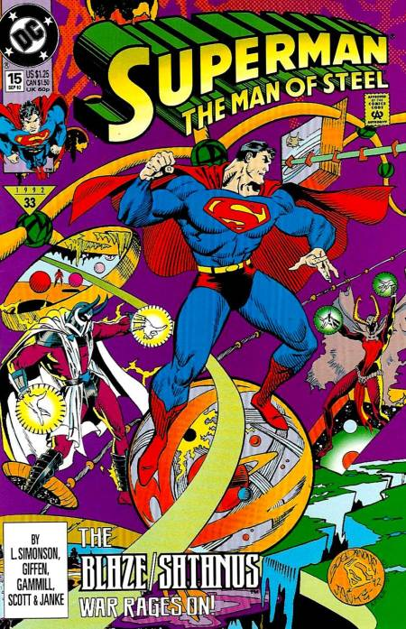 Superman: The Man of Steel Vol 1 15