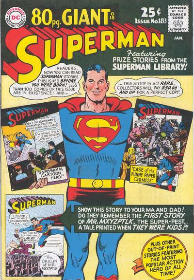 Superman Vol 1 183
