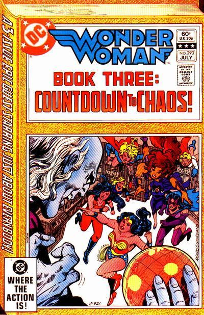 Wonder Woman Vol 1 293