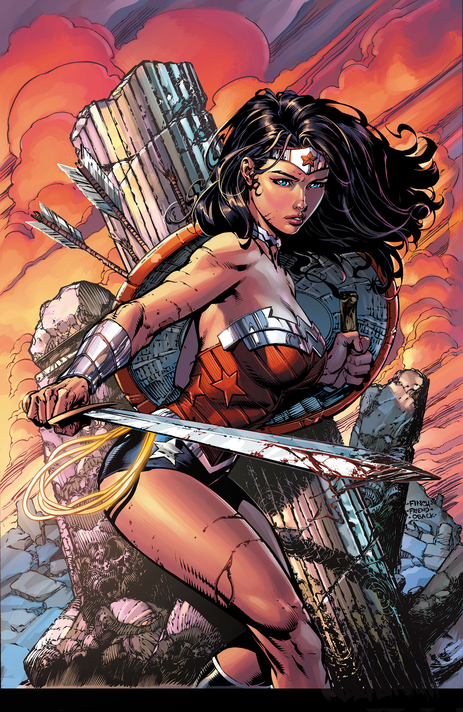 Wonder Woman: War-Torn (Collected)