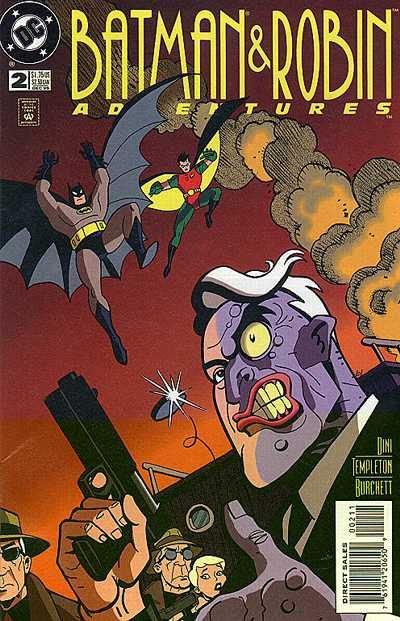 The Batman and Robin Adventures Vol 1 2