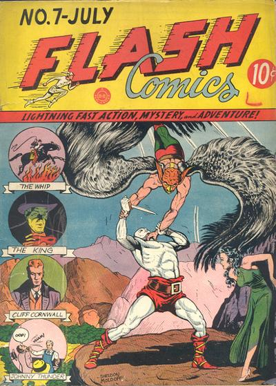 Flash Comics Vol 1 7