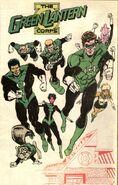 Green Lantern Corps of Earth 0001