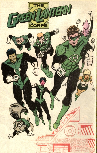 Green Lantern Corps of Earth/Gallery