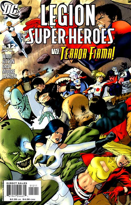 Legion of Super-Heroes Vol 5 12