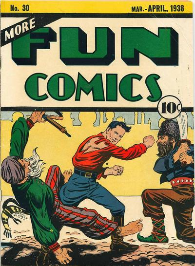 More Fun Comics Vol 1 30
