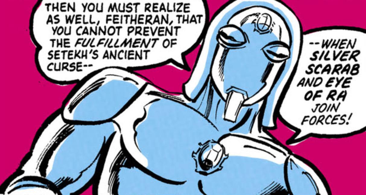 Silver Scarab II (New Earth)
