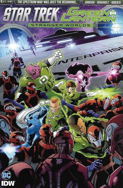 Star Trek/Green Lantern: Stranger Worlds Vol 1 3