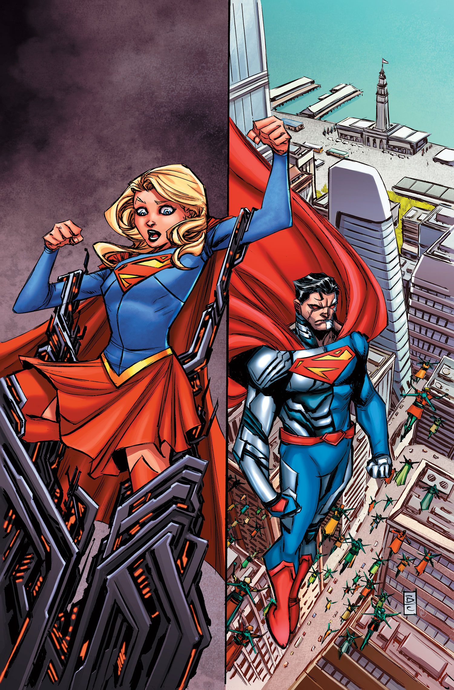 Supergirl Vol 7 4 Textless.jpg