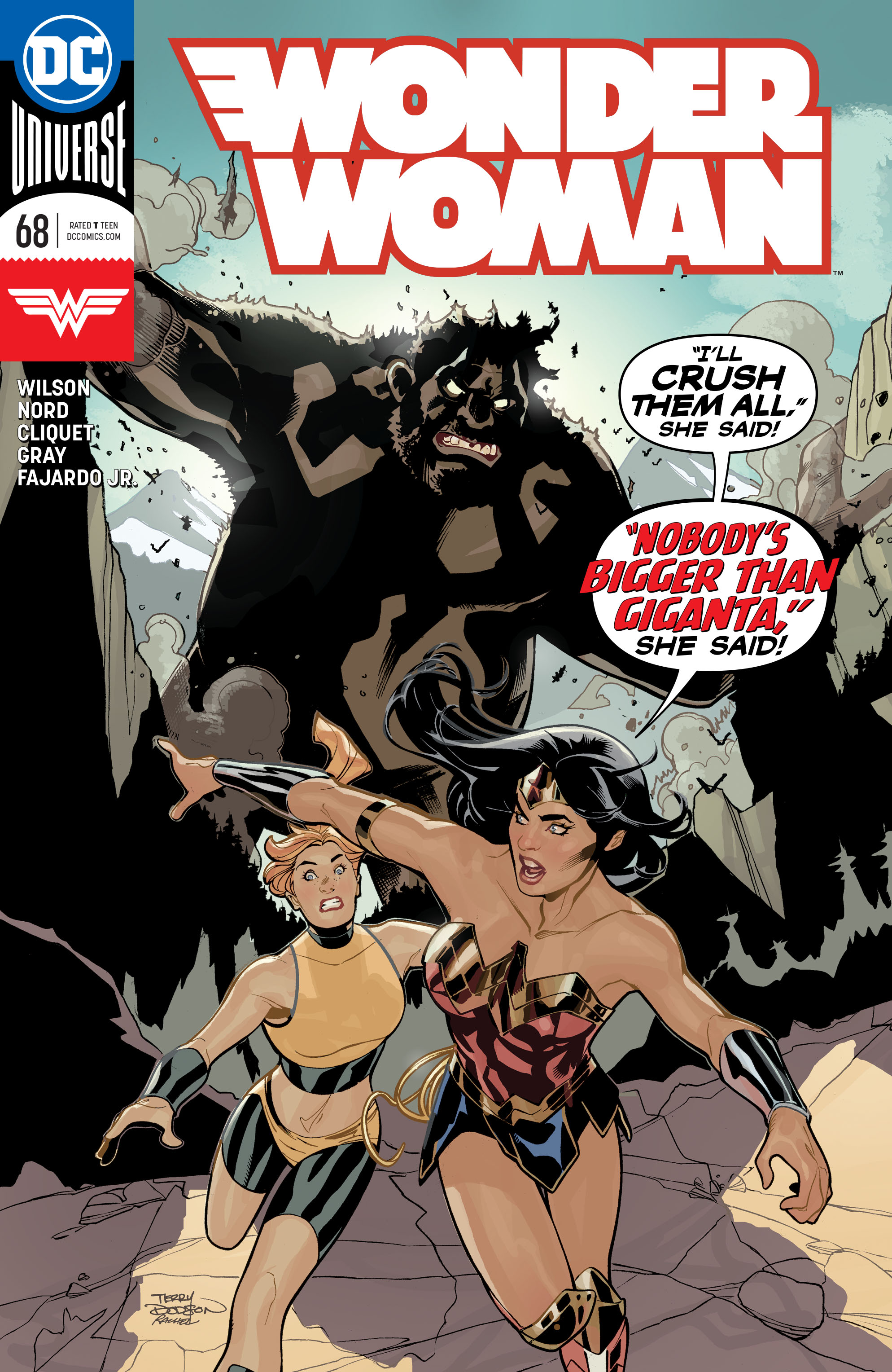 Wonder Woman Vol 5 68