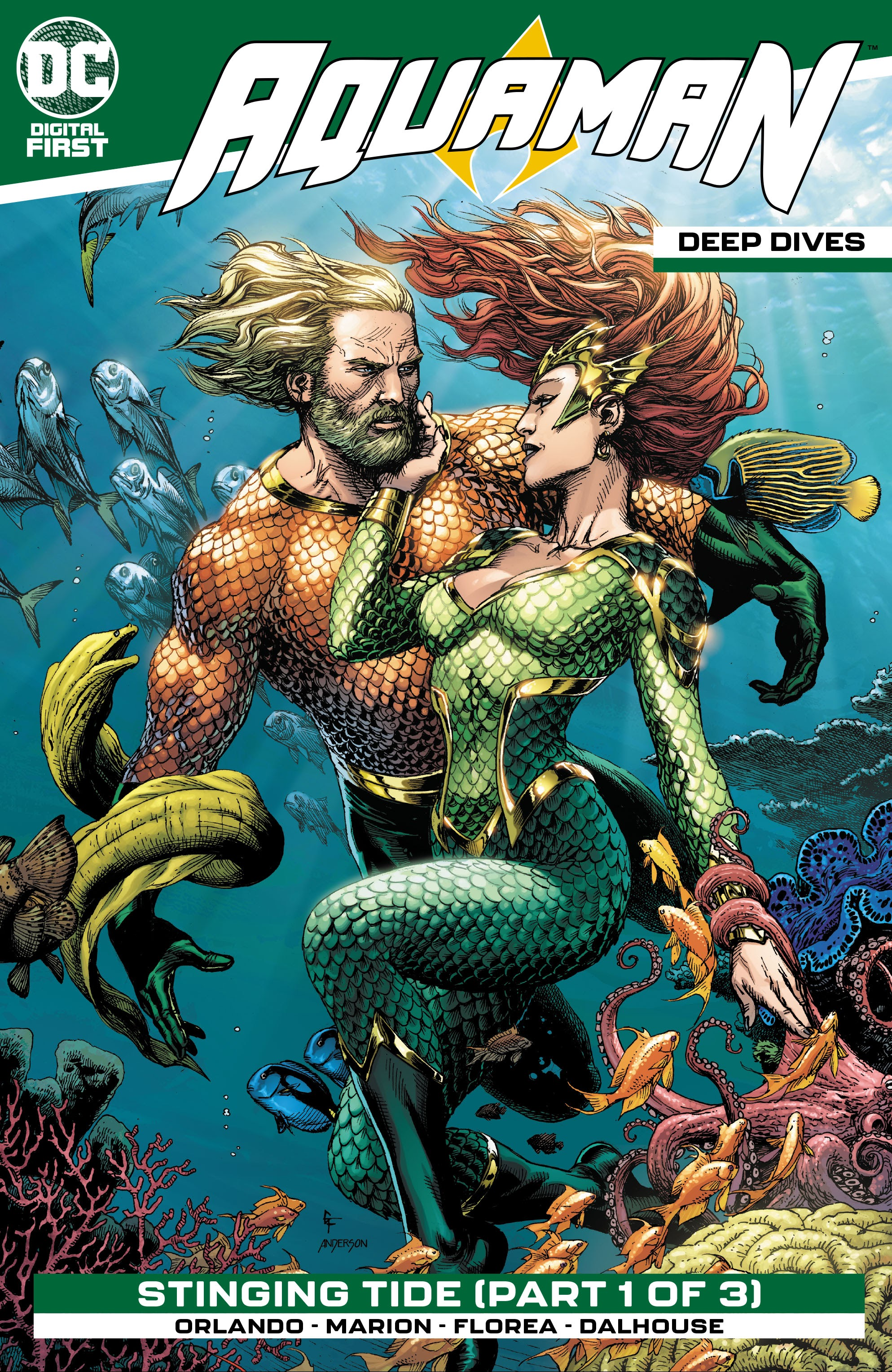 Aquaman: Deep Dives Vol 1 5 (Digital)