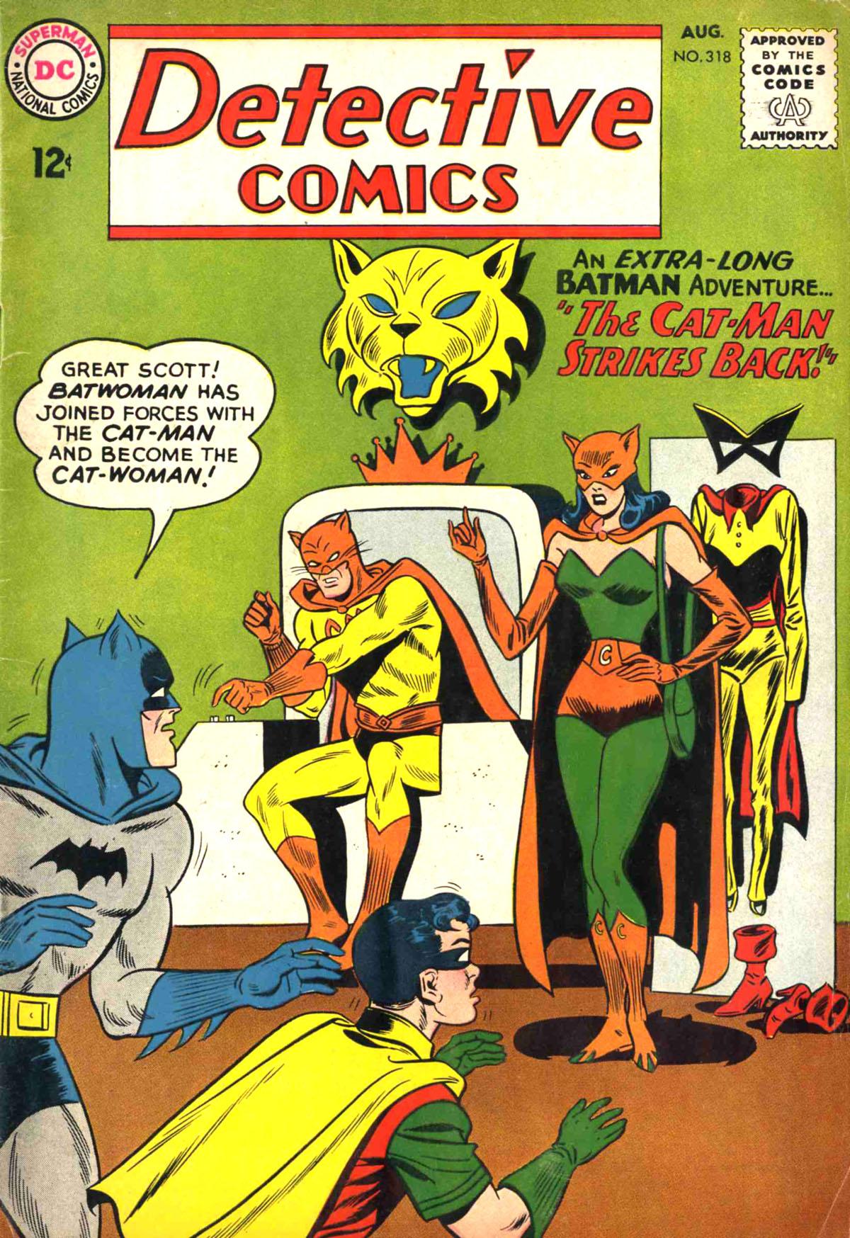 Detective Comics Vol 1 318