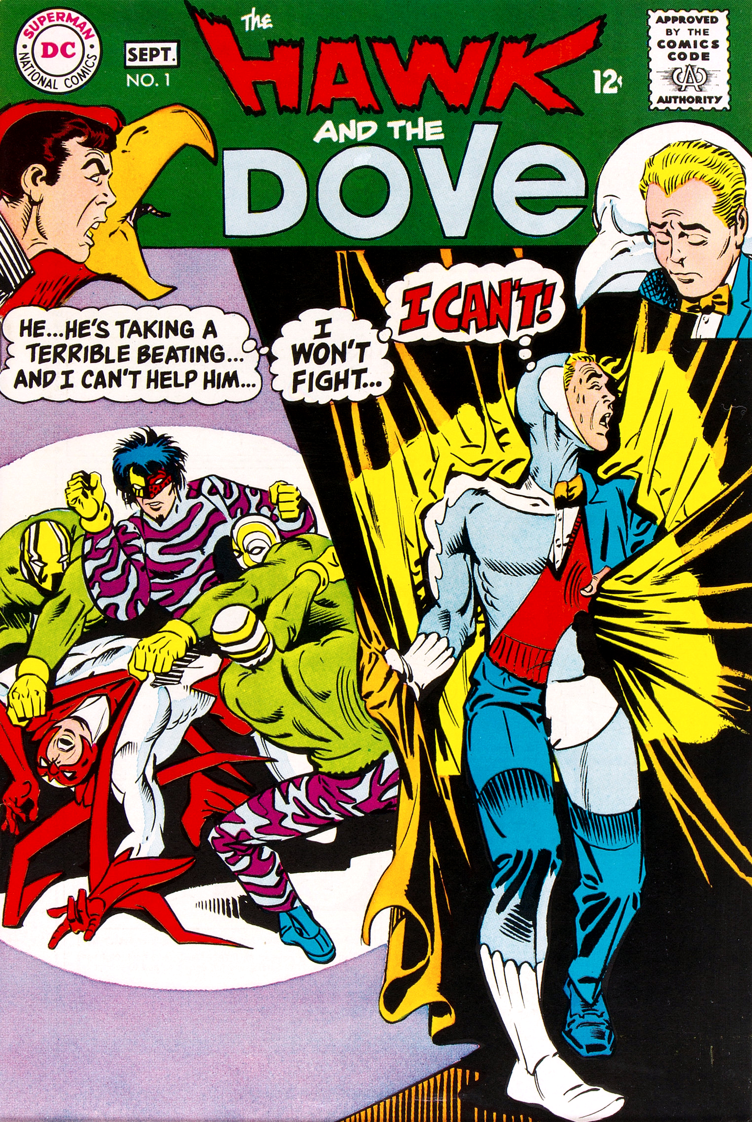 Hawk and Dove Vol 1 1