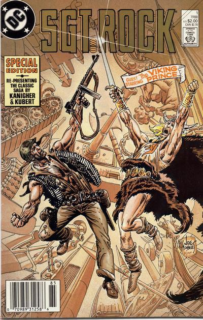 Sgt. Rock Special Vol 1 1