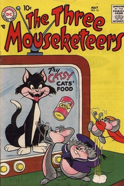 The Three Mouseketeers Vol 1 16