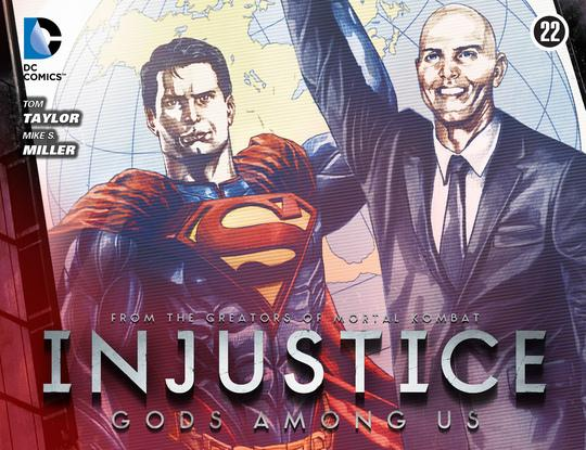 Injustice: Gods Among Us Vol 1 22 (Digital)