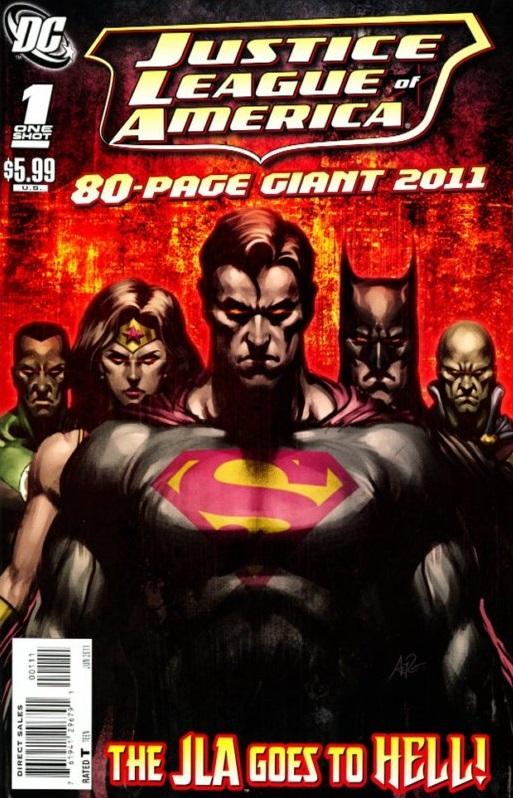 JLA 80-Page Giant 2011