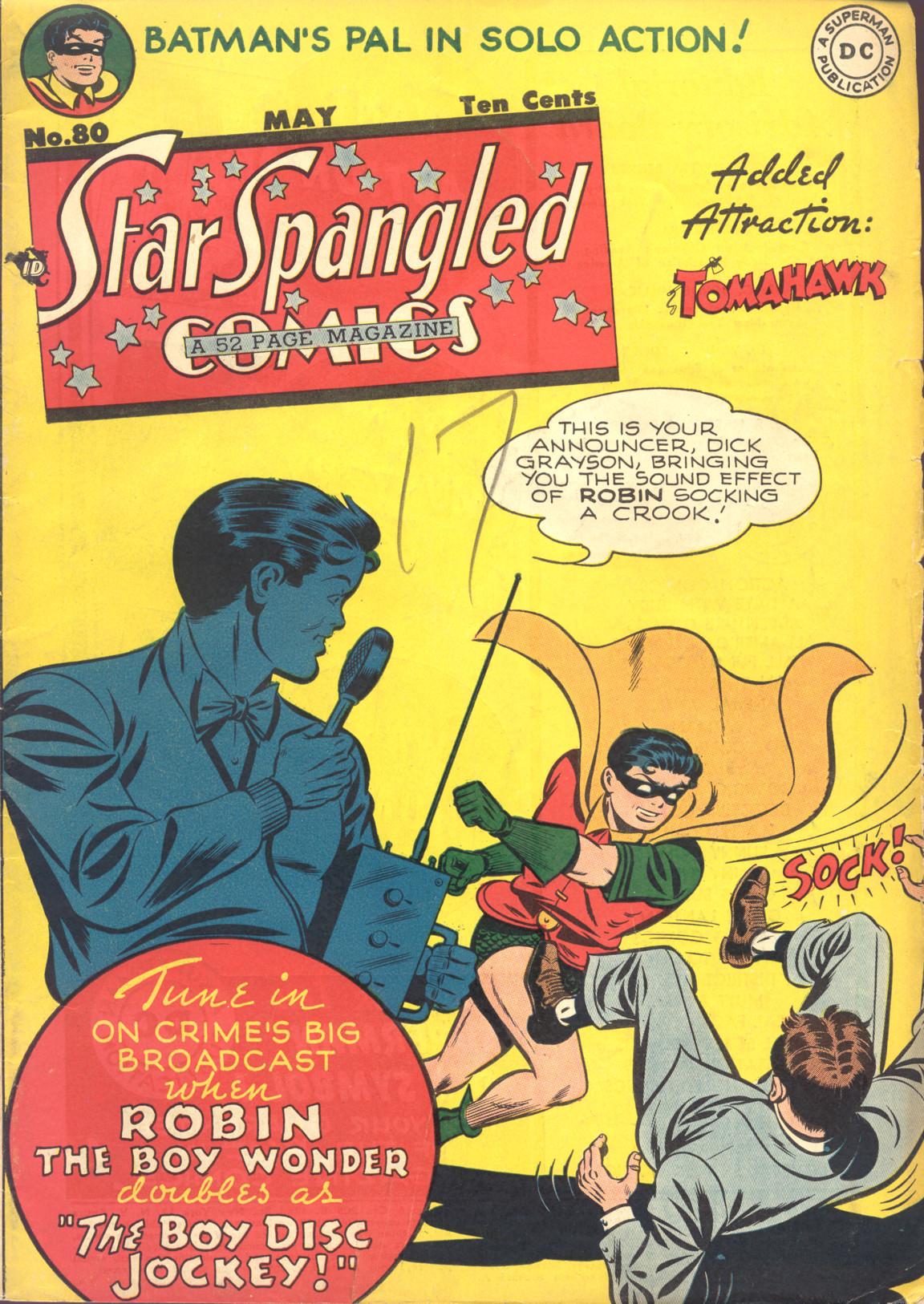 Star-Spangled Comics Vol 1 80