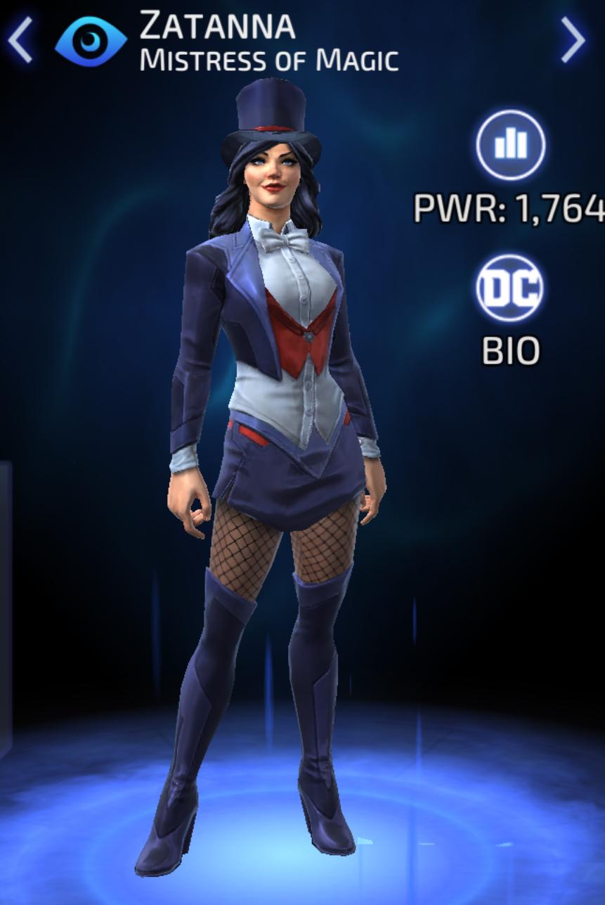 Zatanna Zatara (DC Legends)/Gallery