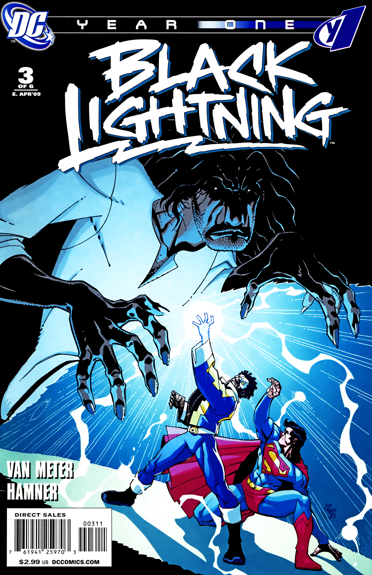 Black Lightning: Year One Vol 1 3