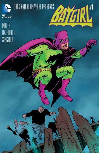 Batgirl Mini Comic