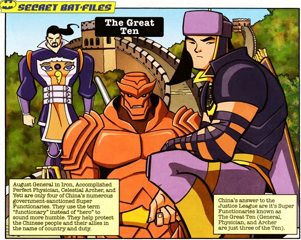 Great Ten (The Brave and the Bold)