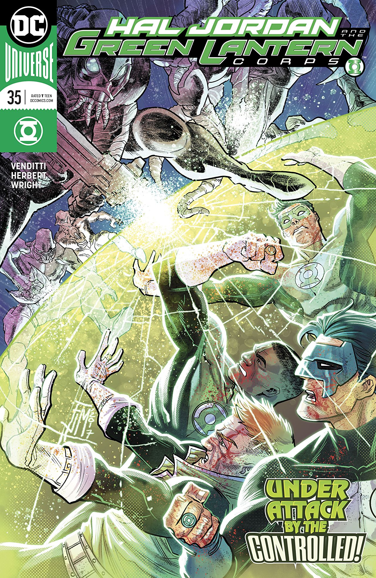 Hal Jordan and the Green Lantern Corps Vol 1 35