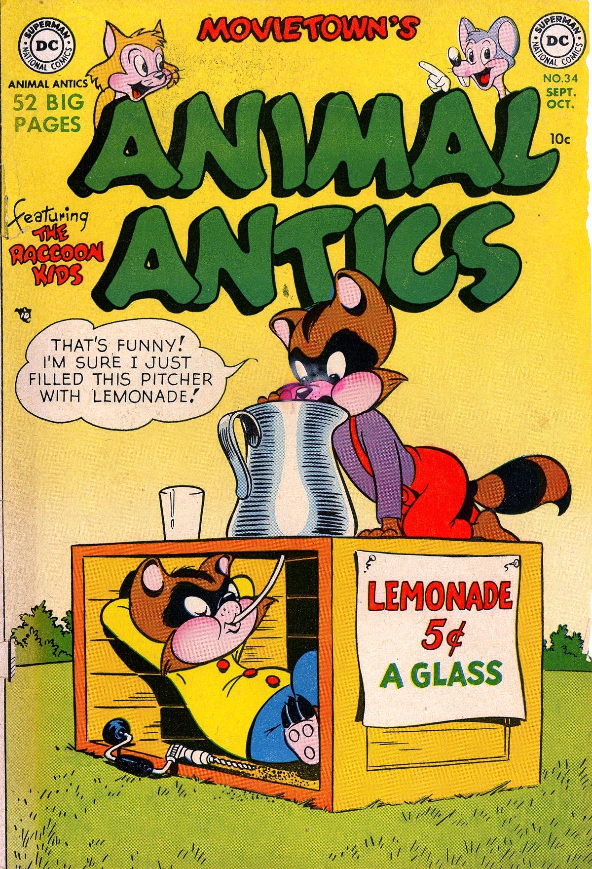 Movietown's Animal Antics Vol 1 34