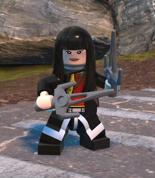 Sandra Wu-San (Lego Batman)