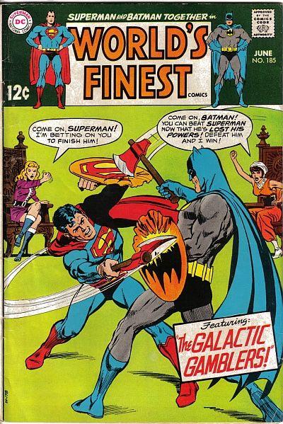 World's Finest Vol 1 185