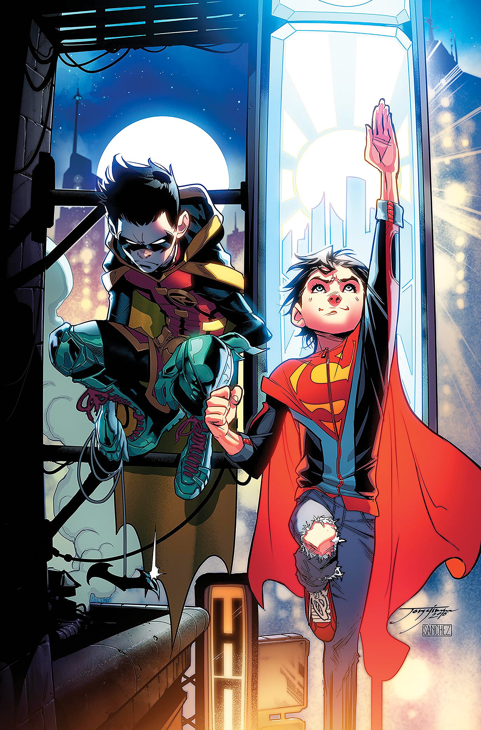 Adventures of the Super Sons Vol 1 1 Textless Variant.jpg