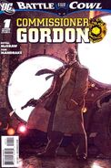 Battle for the Cowl Commissioner Gordon Vol 1 1