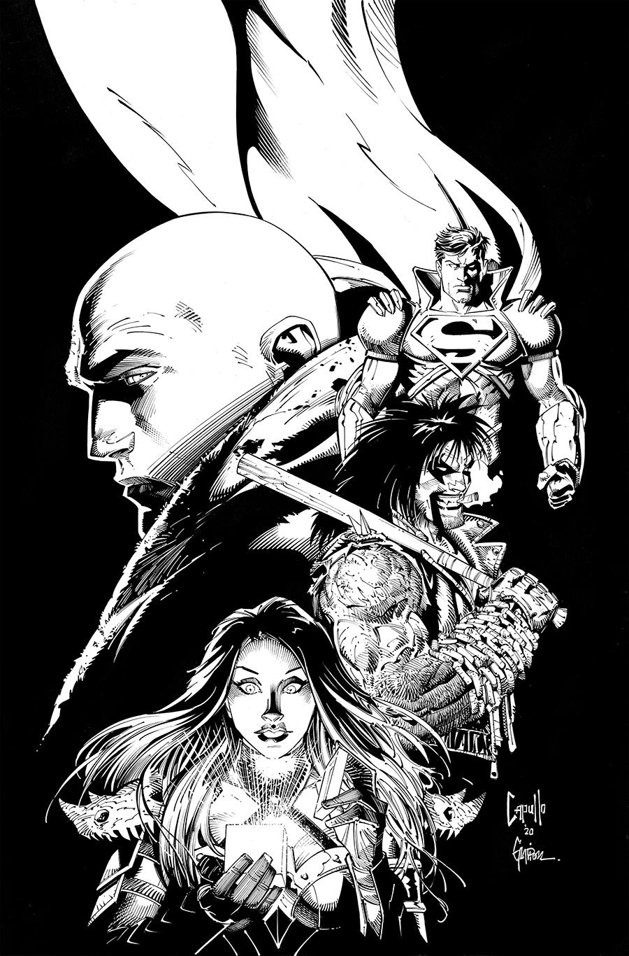 Dark Nights Death Metal Vol 1 5 Textless B&W Variant.jpg
