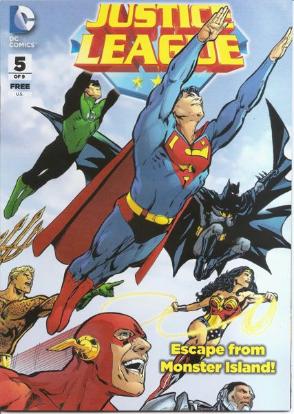General Mills Presents: Justice League Vol 1 5