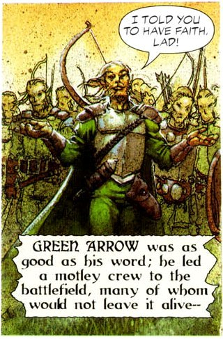Green Arrow (Riddle of the Beast)