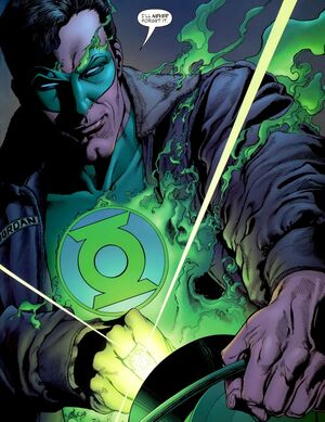 Green Lantern is an indomitable hero whose willpower is the stuff of legends.