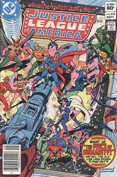 Justice League of America Vol 1 218