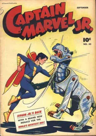 Captain Marvel, Jr. Vol 1 42